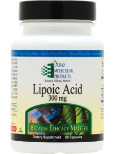 LIPOIC ACID 300MG 60 CAPS