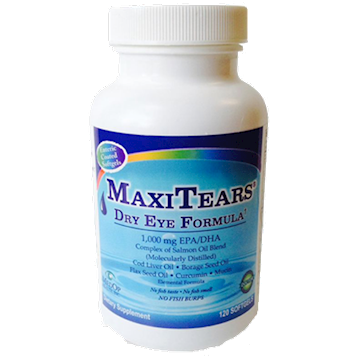 MaxiTears Dry Eye Formula 120 softgels