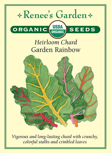 Garden Rainbow Heirloom Chard Renee S Garden Seeds