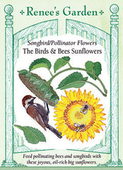 The Birds & Bees Sunflowers