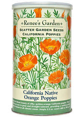 California Native Orange Poppies