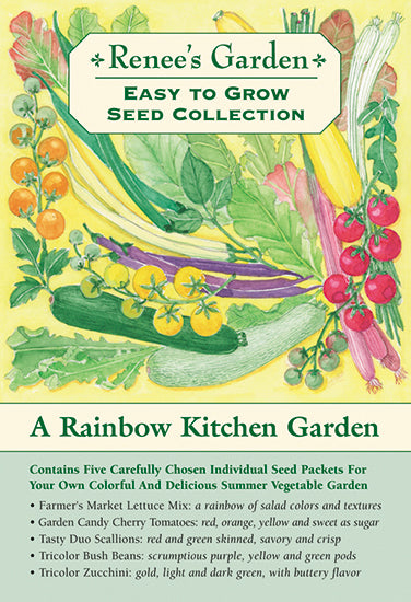The Rainbow Kitchen Vegetable Garden Easy To Grow Collection