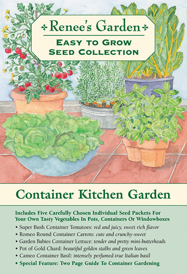 The Container Kitchen Garden Easy To Grow Collection Renee S