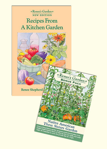 Kitchen Garden Cookbook Plus Three Sisters Bonus Pack