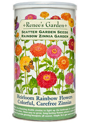 Free Flowering Rainbow Zinnias