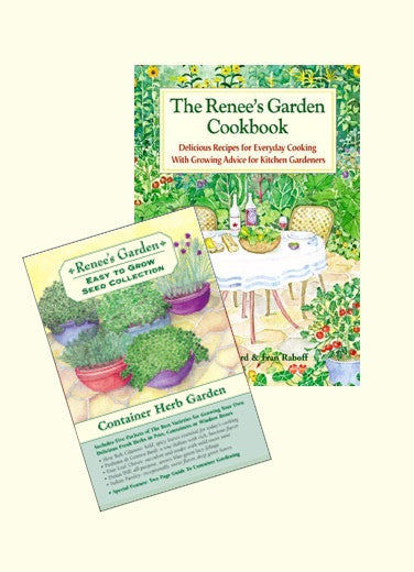 The Renee's Garden Cookbook Plus Choice Of 1 Seed Collection
