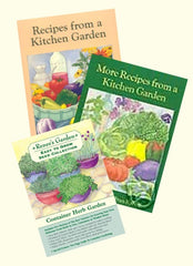 2 Kitchen Garden Cookbooks Plus Choice Of 1 Seed Collection