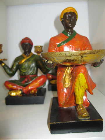 Art Deco Indian Candle Stands