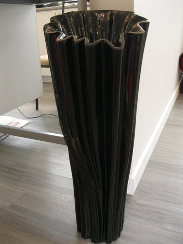 The Black Tree Floor Vase