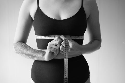 how to find your bra size- underbust measurement
