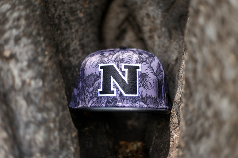 "N 1.5 HAWK CAMO ""BLACK on DARK GRAY"" Flagship Snapback."