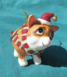 CLEARANCE..Cutie CHIHUAHUA Silly Dog Breed Christmas Ornament