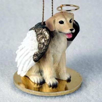 Small Angel LAB RETRIEVER YELLOW Dog Breed Angel Christmas Holiday Ornament