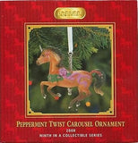 Breyer Horse 2008 PEPPERMINT TWIST Carousel Ornament 9th in Series PRICE REDUCED
