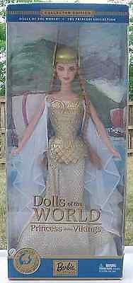BARBIE Dolls OF the World Princess of THE VIKINGS NRFB!