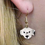 CLEARANCE Dangle Style DALMATIAN Dog Head Resin Earrings Jewelry