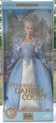 BARBIE Dolls OF the World Princess of DANISH COURT NRFB!