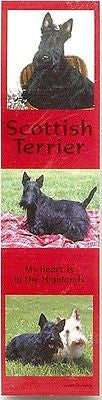 Dog Photos SCOTTISH TERRIER Pet Laminated Paper Bookmark set of 2