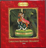 CLEARANCE..Breyer Horse 2008 Christmas KEEPSAKE Holiday Ornament NIB