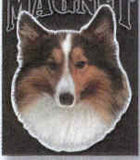 CLEARANCE...Car Magnet SHELTIE Dog Breed Die-cut Vinyl