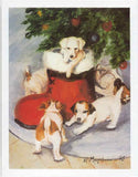Eight Card Pack JACK RUSSELL TERRIER Dog Breed Christmas Cards