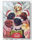 Eight Card Pack LABRADOR RETRIEVER Dog Breed Christmas Cards