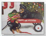 Eight Card Pack ROTTWEILER Dog Breed Christmas Cards