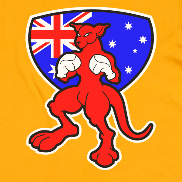 Australia Day Boxing Kangaroo T-Shirt