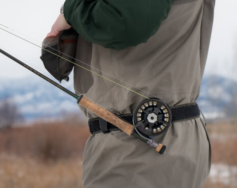Hayes Hand Fly Rod Holster