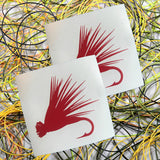 Elk Hair Caddis Transfer Sticker