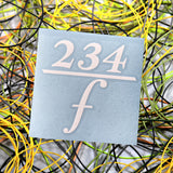 234/Frequency Die Cut Decal