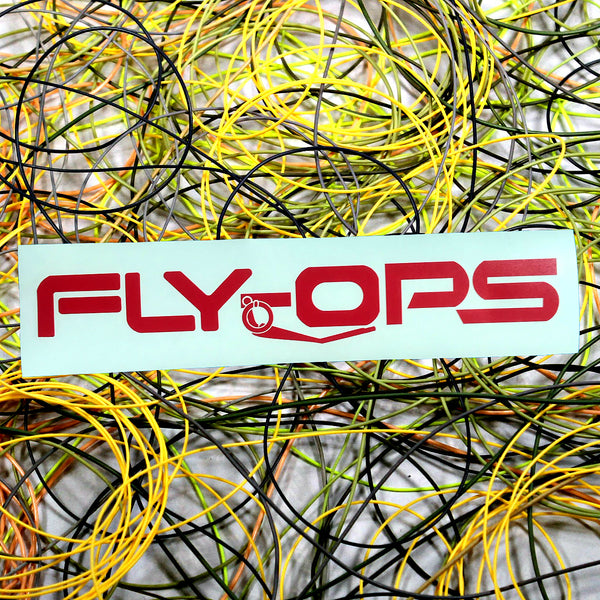 Fly-ops Grenade Logo Transfer Sticker