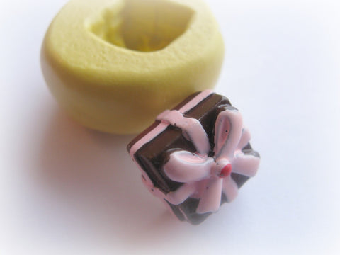 Kawaii Charm Cabochon Bow Resin Clay Mold