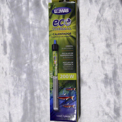Eco Thermal 200 watts, Accesorios - AQUAPLANTAS