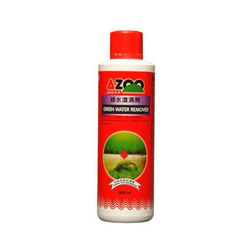 AQUAPLANTASMX - Azoo Green Water 250ML - Tratamiento