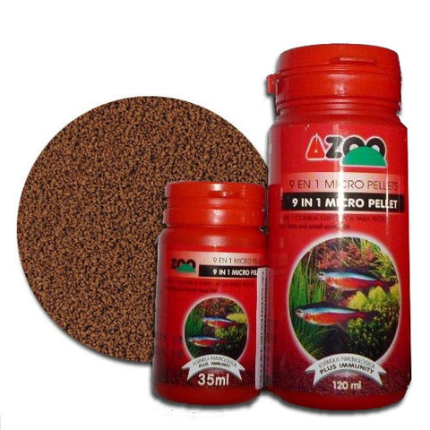 AQUAPLANTASMX - Azoo: micropellet 35 ml - Alimentos