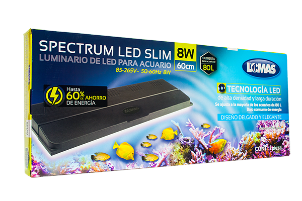 Lampara Spectrum Slim LED 60cm