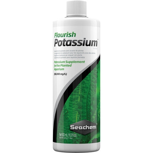 AQUAPLANTASMX - Flourish Potassium 500 ML - Aditivos