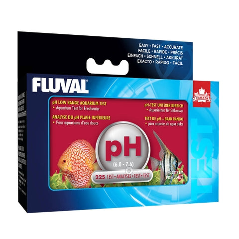 Fluval Test pH Rango Bajo