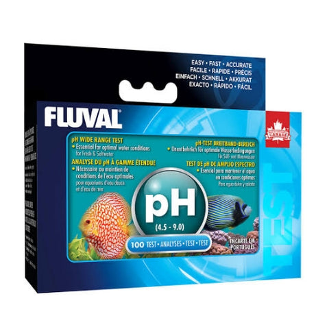 Fluval Test pH Amplio Rango