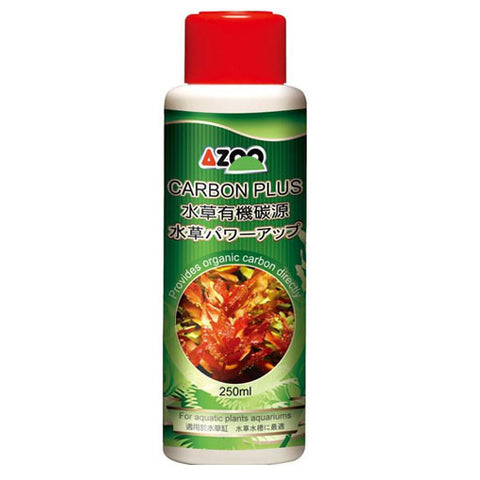 AQUAPLANTASMX - Azoo Carbon Plus 250Ml - Acondicionadores