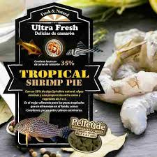 Azoo Plus Ultra Fresh Tropical Shrimp Pie 140 gr