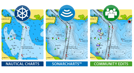 Navionics+ Overwhelming Value