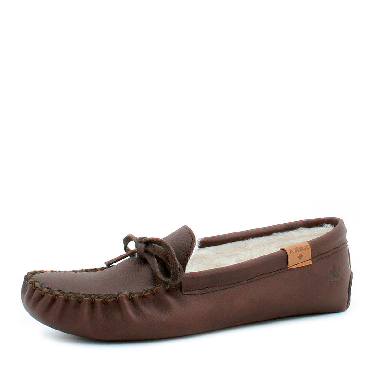 AMIMOC- Lenno grizzly brown moccasin for men