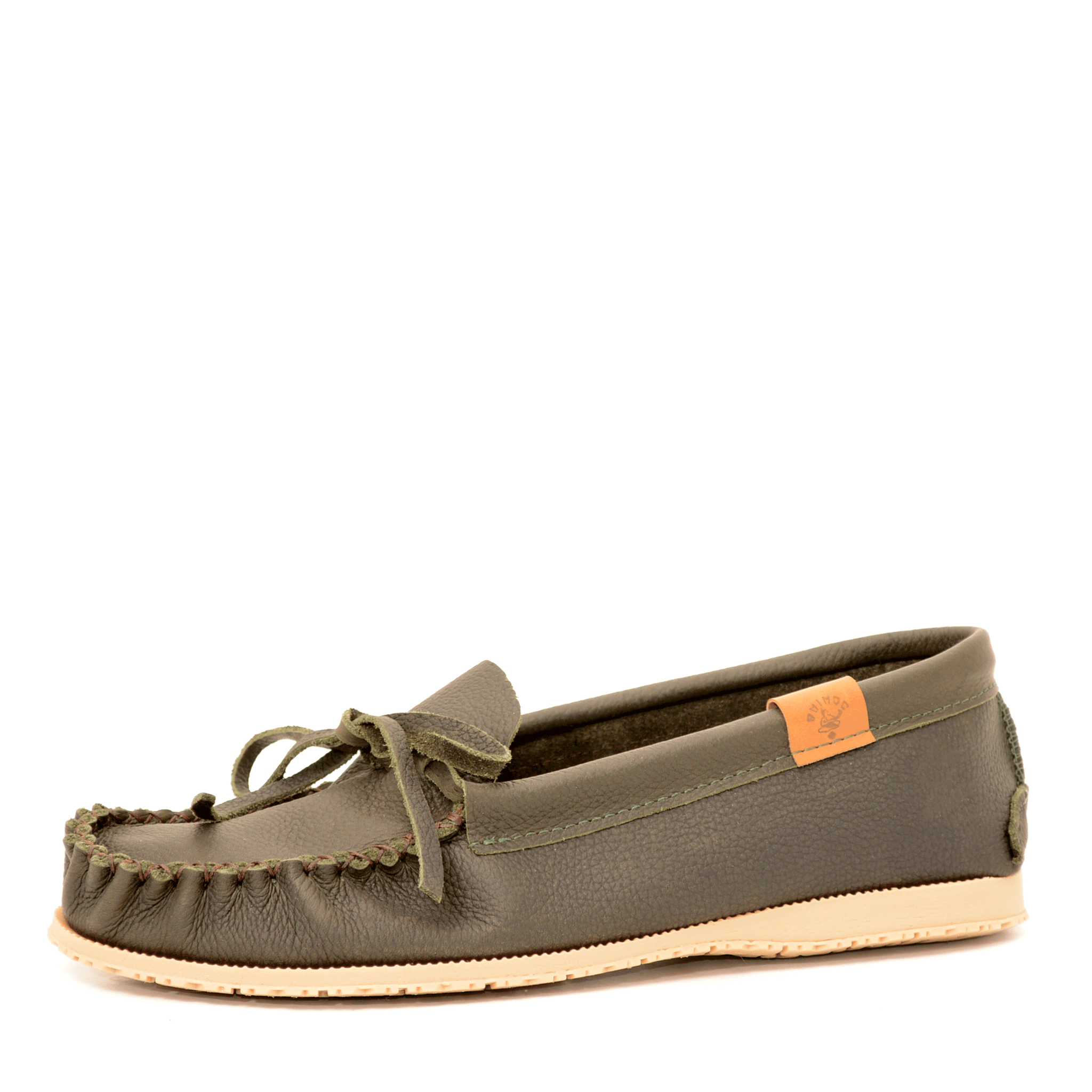 Mocassin Nosh Grizzly Olive pour homme