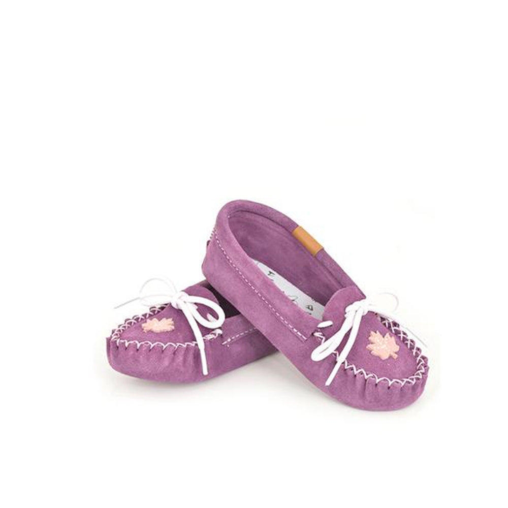Kid's Suede Moccasin