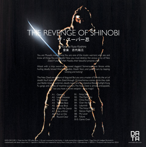 DATA009: The Revenge of Shinobi