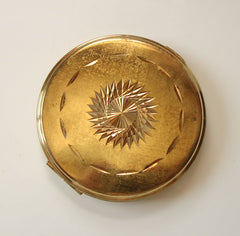 Antique Early 1900s Art Deco Compact Plat Mex SA