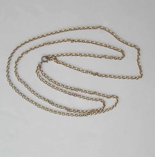 Double Strand Cable Chain Necklace 22 and 28 inches