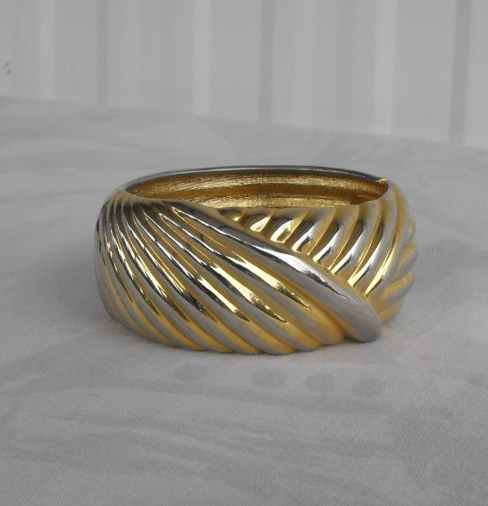 bangle damascene geometric bangles bracelet gold bracelets oval